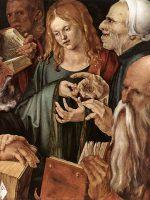 Gesù tra i dottori, il computo manuale,