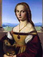 Raffaello Sanzio, Donna col Liocorno, 1505, Roma, Galleria Borghese