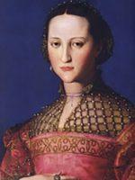 Bronzino, Eleonorada da Toledo, 1543, Praga, Narodni Galerie