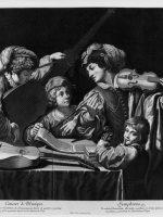 Concert de Musique,1671 Bulino,