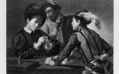 ENGRAVINGS BY CARAVAGGIO AND HIS CONTEMPORARIES